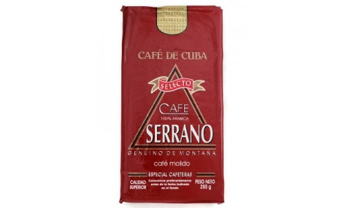 Serrano Selecto - Roasted & Ground Cuban Coffee 1000g