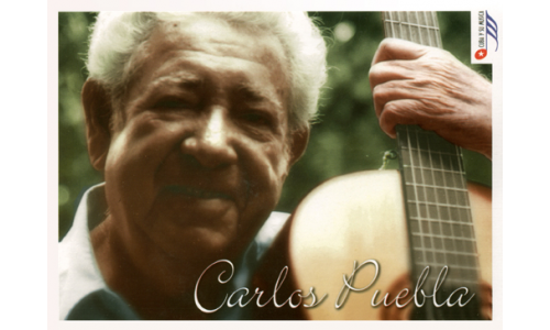 Carlos Puebla greeting cards with CD