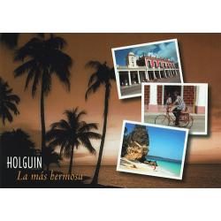 Holguin (La mas hermosa) greetings card with CD