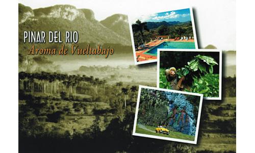 Pinar del Rio greetings card with CD
