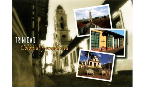 Trinidad (colonial y romantica) greetings card with CD