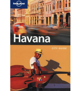 Lonely Planet Guide Book - Havana - 2nd Edition