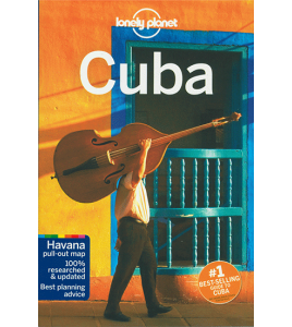 Lonely Planet Guide Book - Cuba - 8th Edition