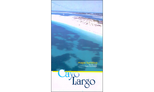 Map of Cayo Largo (Isla de la Juventud), Cuba
