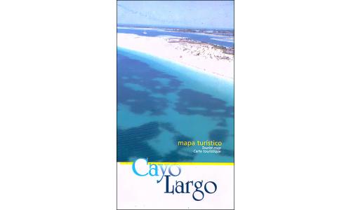 Map of Cayo Largo (Isla de la Juventud), Cuba