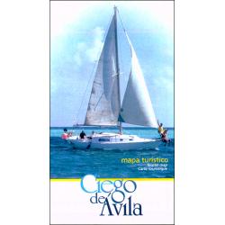 Map of Ciego de Avila Province, Cuba