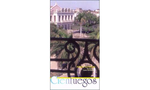 Map of Cienfuegos Province, Cuba