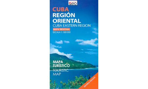 Map of Cuba Eastern Region