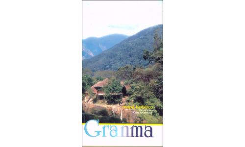 Map of Granma Province (Bayamo), Cuba