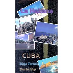 Map of Havana City, Cuba