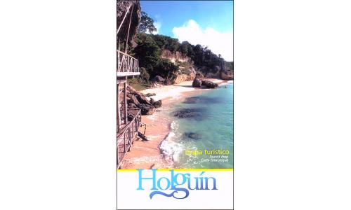 Map of Holguin, Cuba