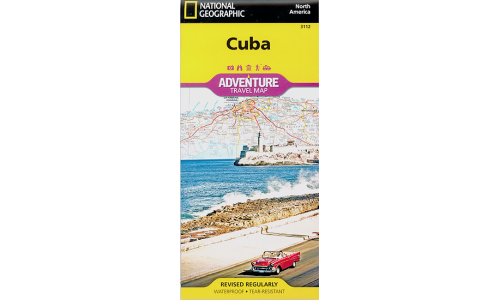 Cuba Adventure Travel Map - National Geographic