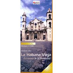 Map of Old Havana, Cuba (New Edition)