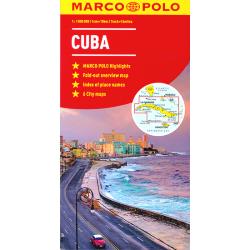 Cuba Map - Marco Polo