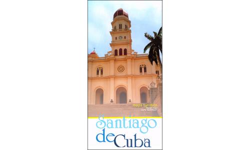 Map of Santiago de Cuba